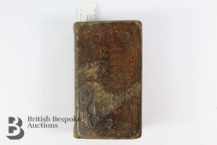 The Holy Bible Containing Old & New Testaments Published Kincaid Edinburgh 1783
