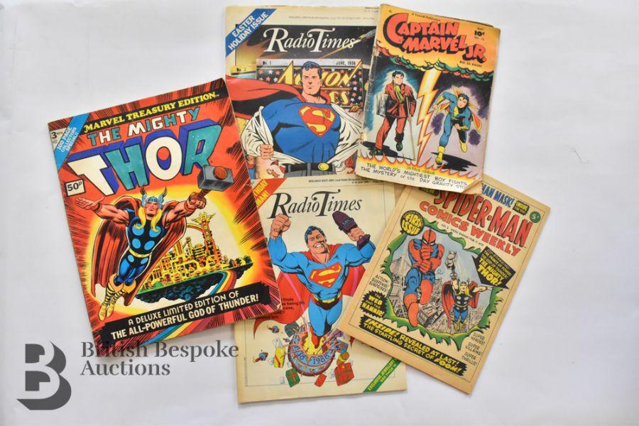 8 Vintage Superhero Interest