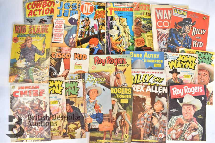 Vintage Western Annuals and Comics