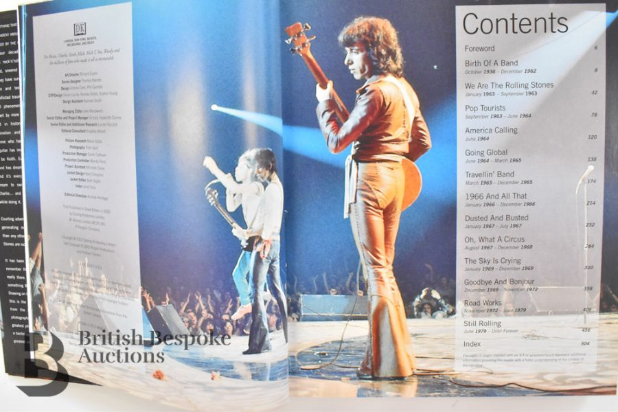 Rolling with the Stones by Bill Wyman with Richard Havers Signed by Both - Image 6 of 11