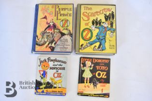 Vintage Wizard of Oz Books by Frank Baum