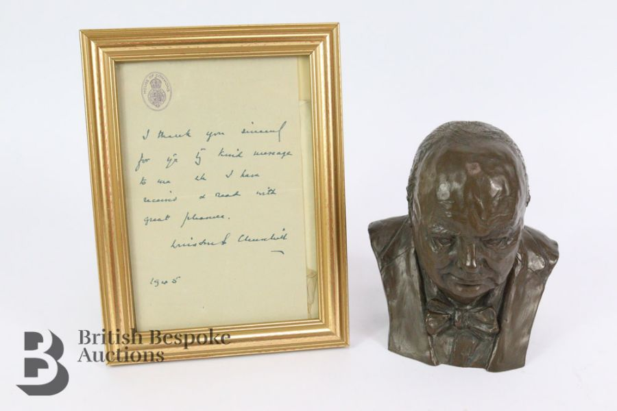 Marcus Designs - Composite Bust of Winston Churchill
