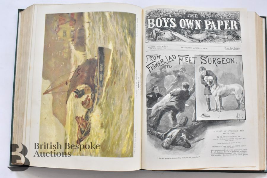 7 Boy's Own Annuals and Girl's Own Annual and Chums - Image 20 of 36