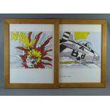 After Roy Lichtenstein Pop Art