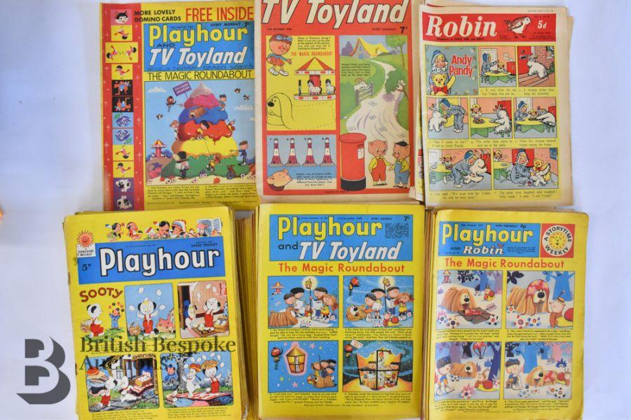 Approx. 84 Playhour/ Playhour & TV Toyland/ Playhour and Robin Comics 1957-72