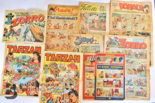 Vintage French Comic Interest 1940/50/60
