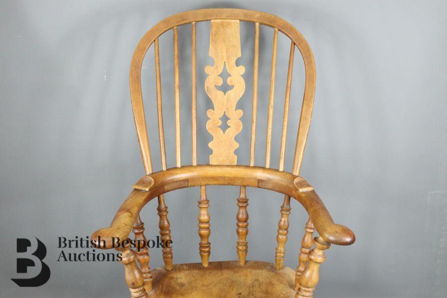 Pine Slat-back Kitchen Chair - Image 2 of 4