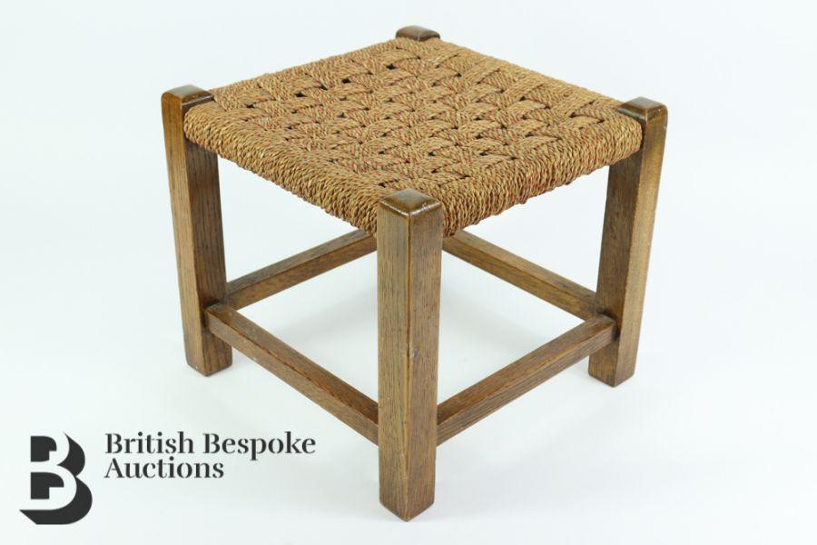 Oak Rush Seated Chair