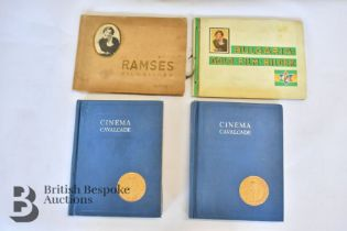 4 Film Card Albums from 1930/40s