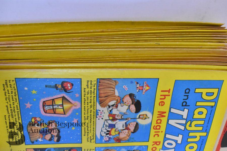 Approx. 84 Playhour/ Playhour & TV Toyland/ Playhour and Robin Comics 1957-72 - Image 6 of 6