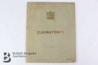 Elkington & Co. Ltd. Tableware Catalogue Circa 1933
