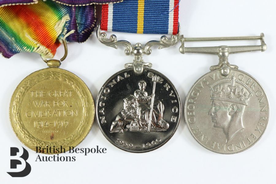 Miscellaneous WWII Medals - Image 4 of 4