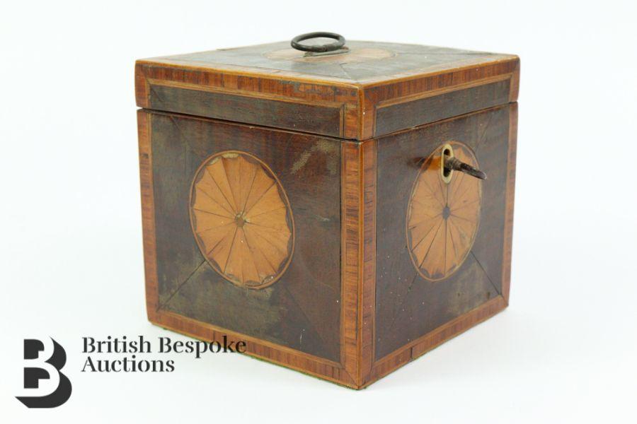 Wooden Tea Caddy - Image 2 of 3