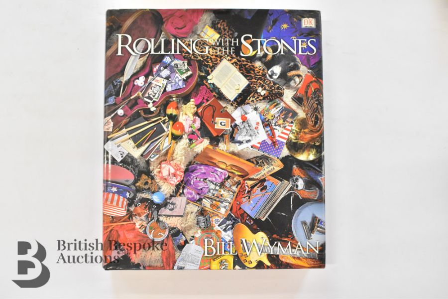 Rolling with the Stones by Bill Wyman with Richard Havers Signed by Both