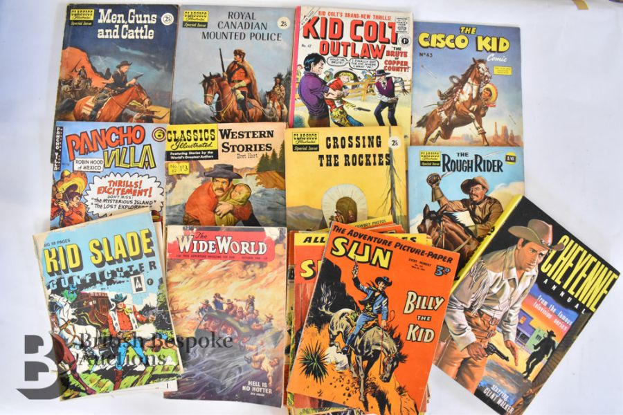 Vintage Western Annuals and Comics - Image 4 of 8