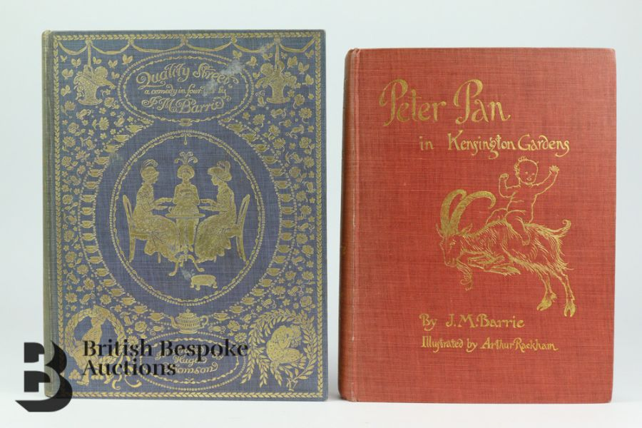 Peter Pan in Kensington Gardens by J M Barrie, Illustrated by Arthur Rackham, 1909 - Image 4 of 13