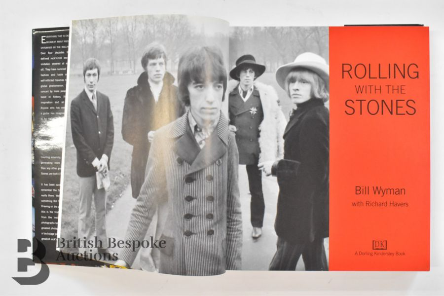Rolling with the Stones by Bill Wyman with Richard Havers Signed by Both - Image 5 of 11