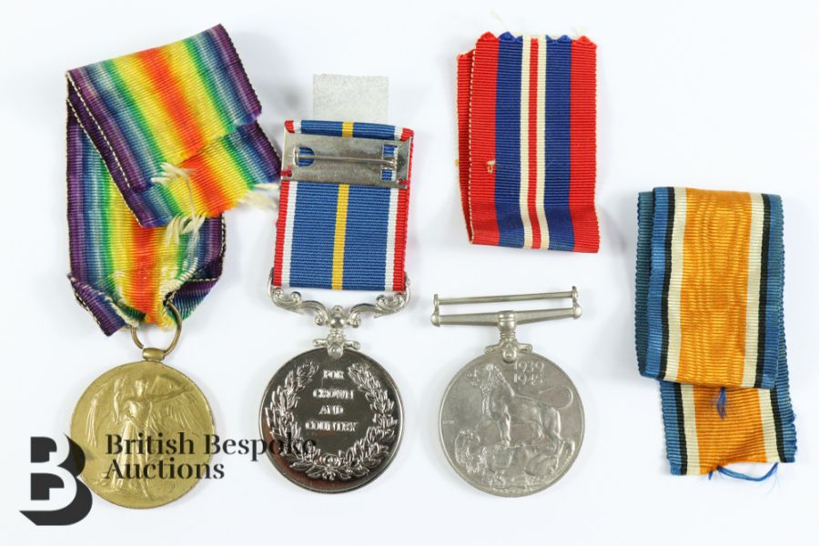 Miscellaneous WWII Medals - Image 2 of 4