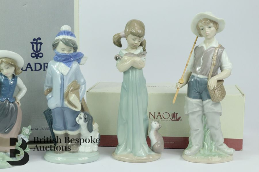 Lladro Porcelain Figurines - Image 3 of 5