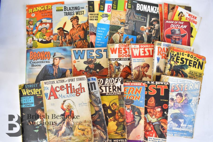 Vintage Western Annuals and Comics - Image 6 of 8