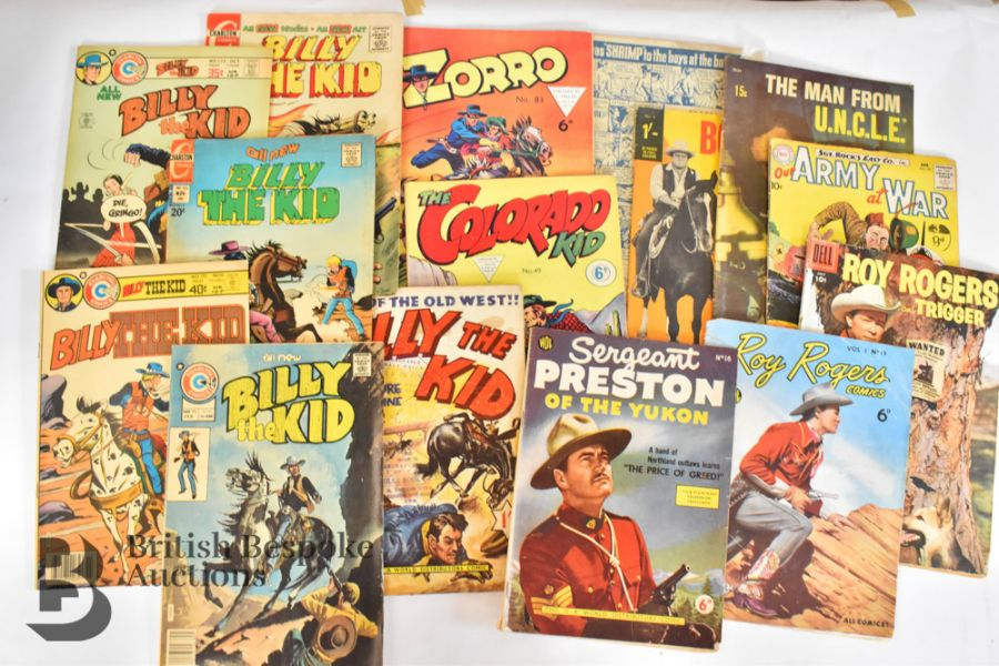 Vintage Western Annuals and Comics - Image 8 of 8
