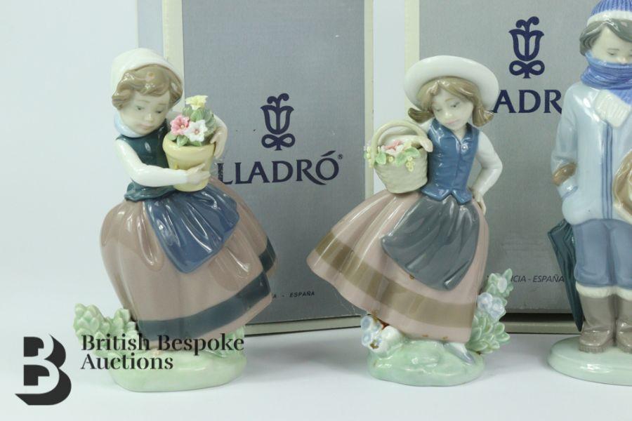 Lladro Porcelain Figurines - Image 2 of 5