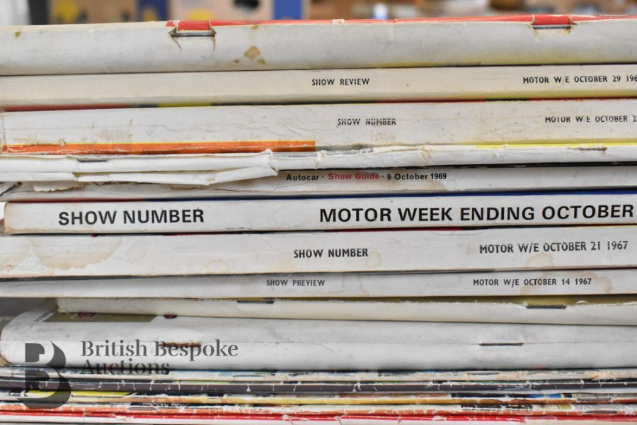 Approx. 40 Motoring Magazines 1950s-70s London Motor Show Previews - Image 9 of 10