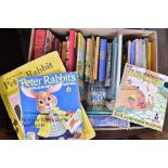 Approx. 160 Assorted Vintage Children's Books inc. Dr. Seuss