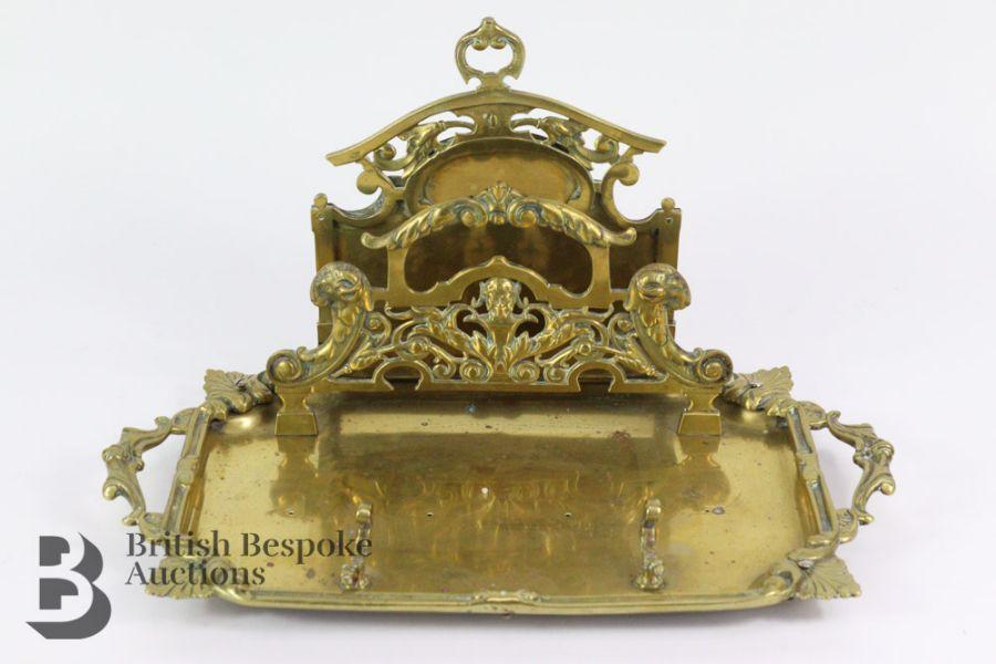 French Gilt Metal Bowl - Image 2 of 5