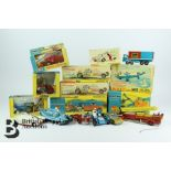 Quantity of Corgi and Dinky Die-Cast Scale Models