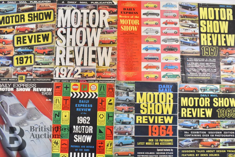 Approx. 40 Motoring Magazines 1950s-70s London Motor Show Previews - Image 7 of 10