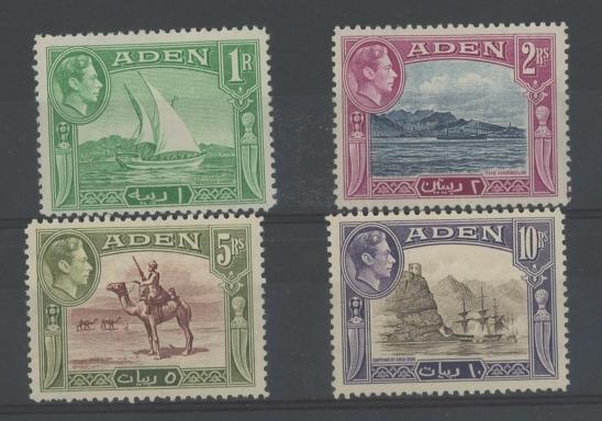 1939 1r-10r Mint, fine.