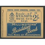 1929 PUC 2/-, Edition 106, outline of paper clip on front cover, otherwise fine.