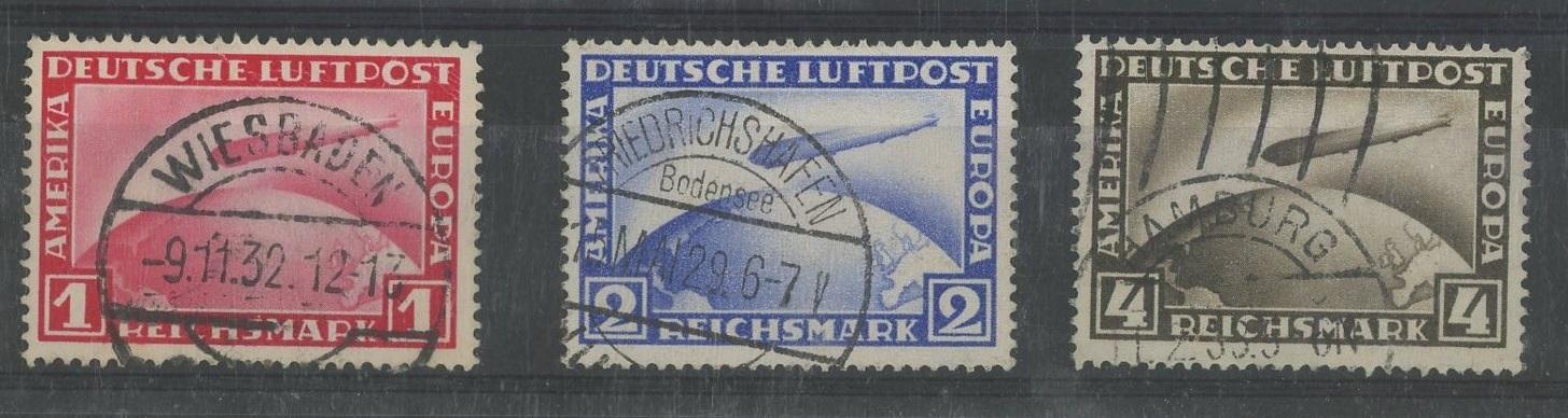 1928 Zeppelin set used.