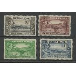 1938 2/- to £1 Mint. SG 197-200 Cat £80 (4)