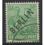 1948 84pf green F/U, fine.