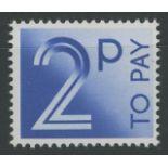 1982 2p ACP/DEX Paper error U/M, fine.