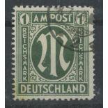 1945 1m green F/U, fine.