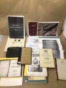 A COLLECTION OF AVIATION AND AIRCRAFT RELATED EPHEMERA £15 P/P