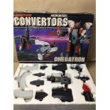 A 1980'S TRANSFORMER BY GRANDSTAND MOTORISED CONVERTORS OMEGATRON BOXED