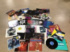 A QUANTITY OF MAINLY 12 INCH SINGLES VINYL, LITTLE SHAWN, JO BOXER, FIVE STAR AND MORE, UK P&P £20
