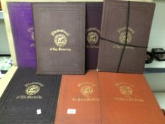 SIX BOOK ILLUSTRATIONS, (PROMOTION OF THE FINE ARTS IN SCOTLAND 2 X 1866, 1867,1869,1871 AND 2 X