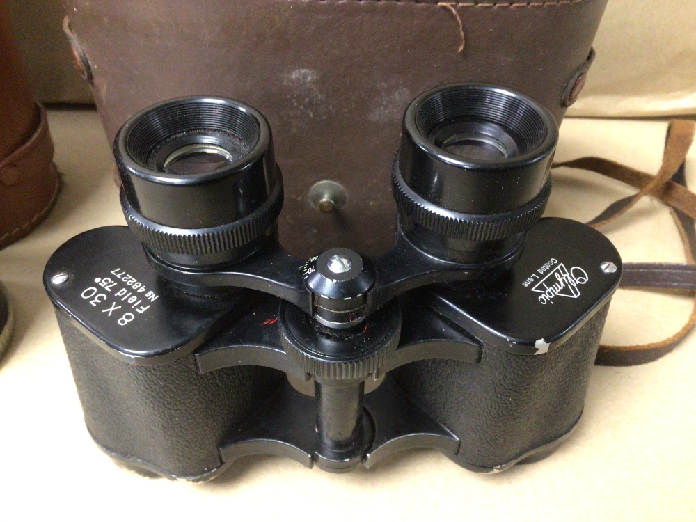 TWO PAIRS OF CASED BINOCULARS OLYMPIC 8 X 30 AND REGALE MARINE 7 X 50 - Image 2 of 3