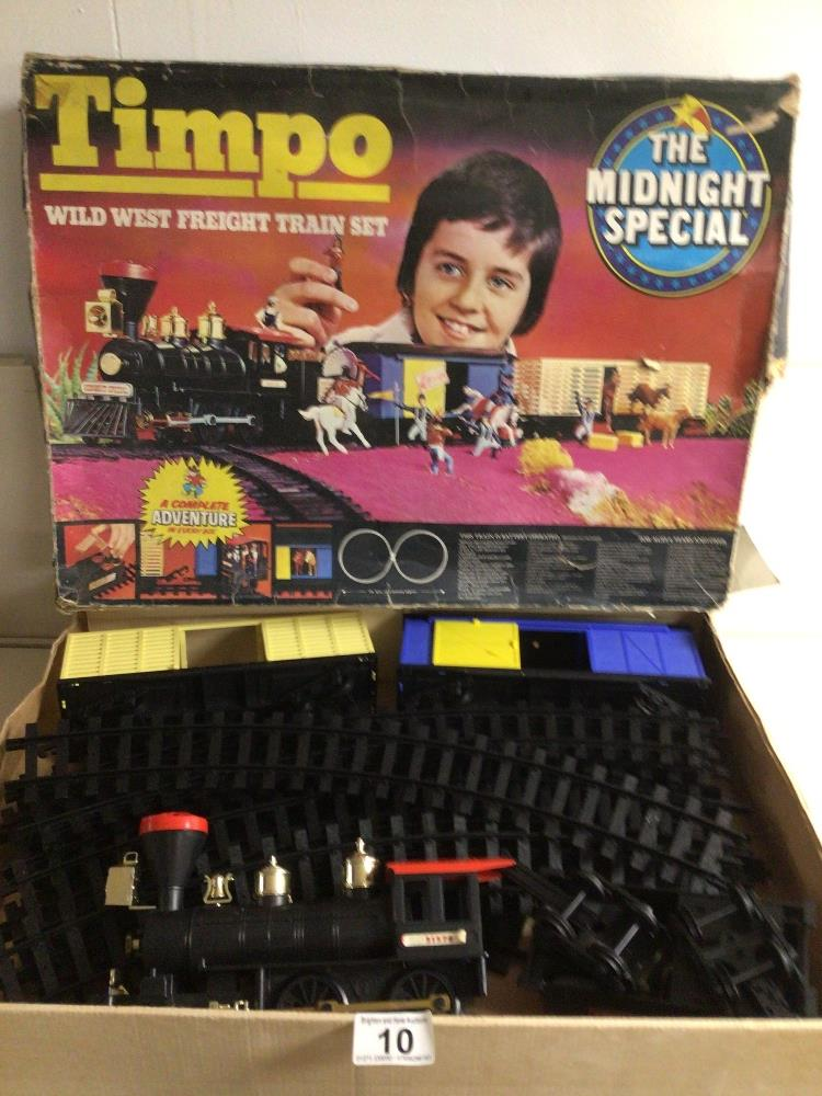 A BOXED TIMPO (THE MIDNIGHT SPECIAL) TRAIN SET
