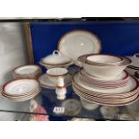 ROYAL GRAFTON PART DINNER SERVICE THIRTY SEVEN PIECES