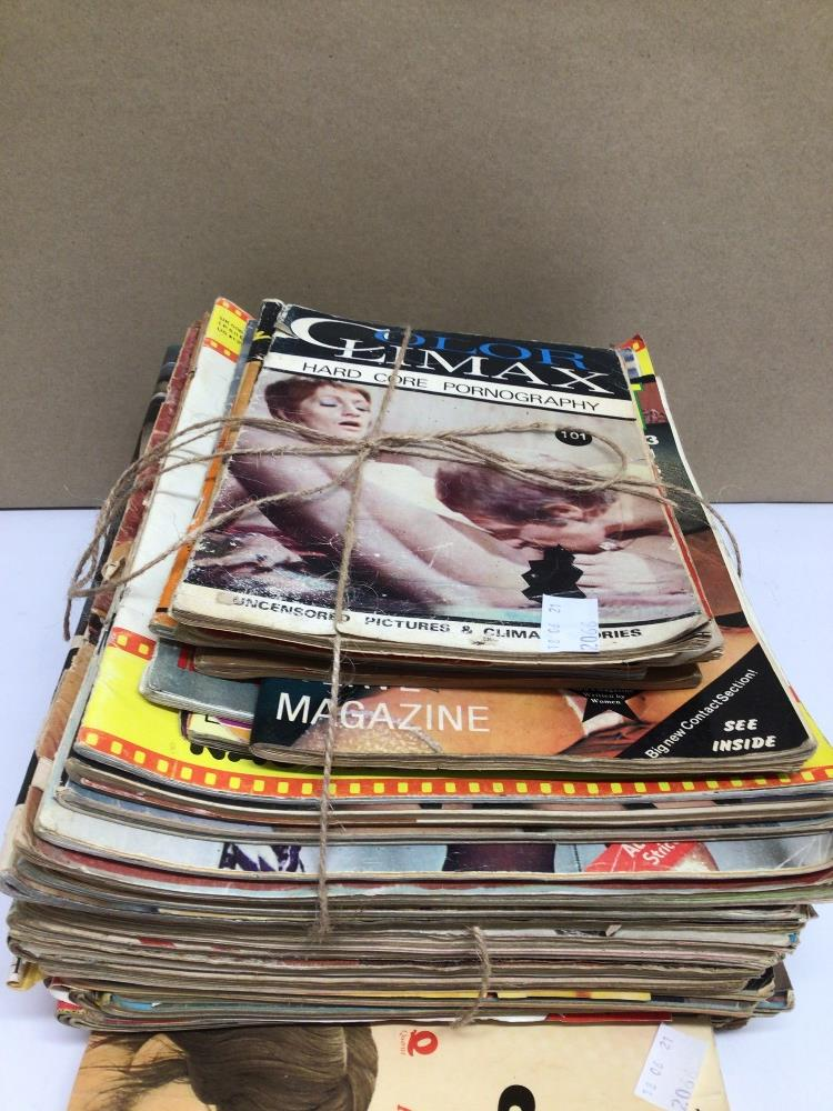 A QUANTITY OF VINTAGE ADULT MAGAZINES, CONSENT, COLOR CLIMAX AND MORE - Image 3 of 6