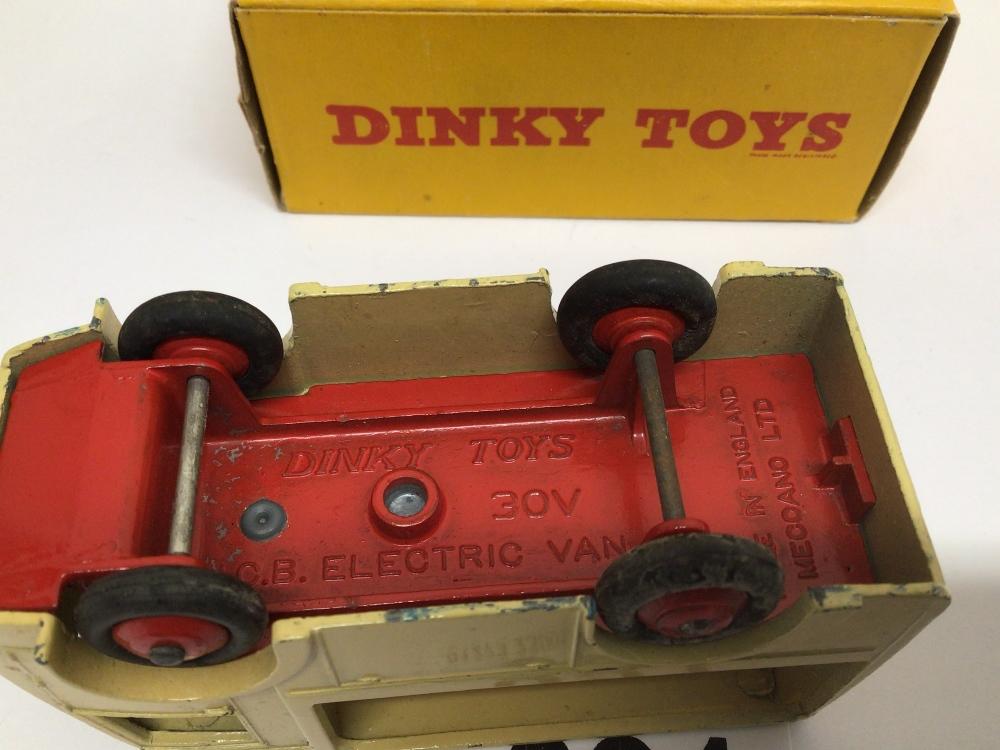 A BOXED DIE-CAST DINKY 491 ELECTRIC DAIRY VAN (N.C.B) - Image 3 of 3