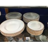 BOOTHS PART DINNER SERVICE THIRTY-THREE PIECES