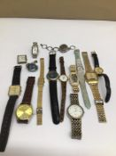 A QUANTITY OF MIXED WATCHES LADIES AND GENTLEMENS, LORUS, SEKONDA AND MORE