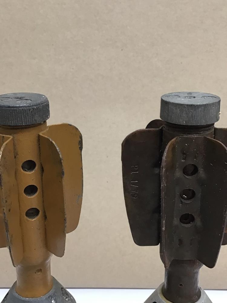 TWO PARACHUTE ILLUMINATING MORTAR BOMBS (INERT), 24CM - Image 5 of 7